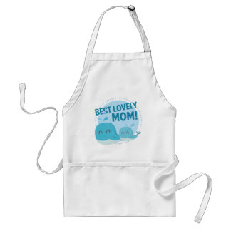 Best Lovely Mom Standard Apron