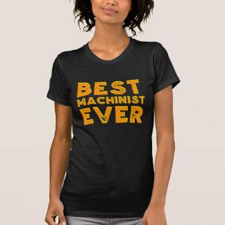 Best machinist ever T-Shirt
