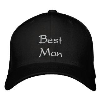 Best Man Best Embroidery Cap Baseball Cap