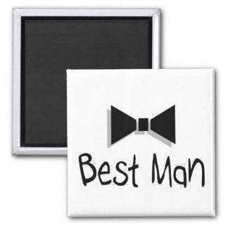 Best Man (Bow Tie 1) Fridge Magnet