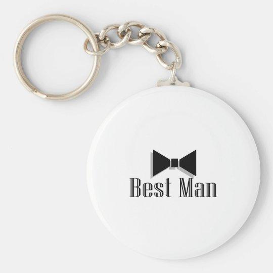 Best Man (Bow Tie 2) Keychain