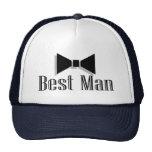 Best Man (Bow Tie 2) Trucker Hat