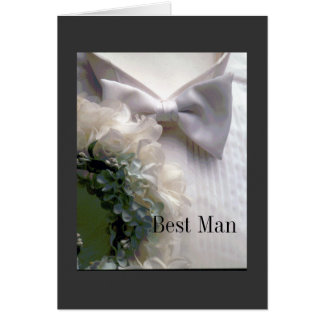 Best Man Card