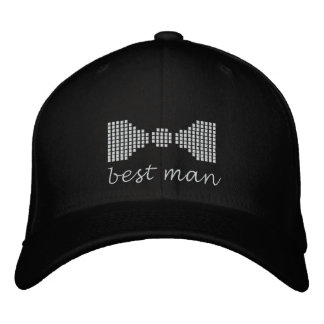 Best Man Embroidered Baseball Caps