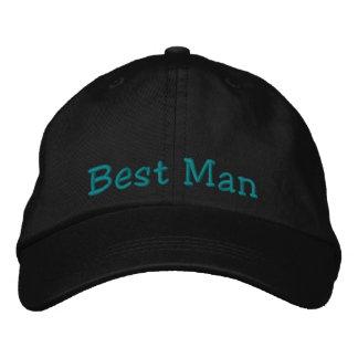 Best Man Embroidered Cap