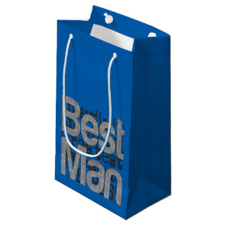 Best Man Extraordinaire Small Gift Bag