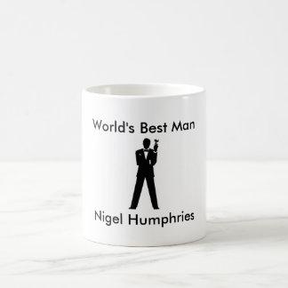 Best Man Gift Mug