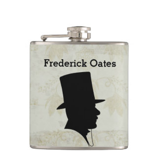 Best Man or Groomsman Invitation Flask