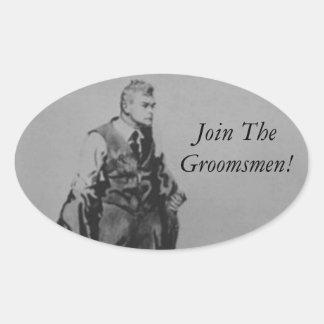 Best Man or Groomsman Invite Envelope Seal