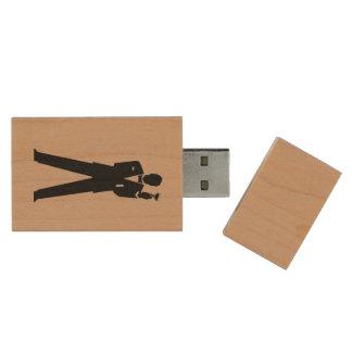 Best Man or Groomsman's Photo Storage Wood USB Flash Drive