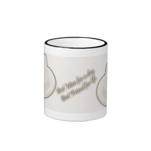 Best Man Thank You Gift - Ringer Mug