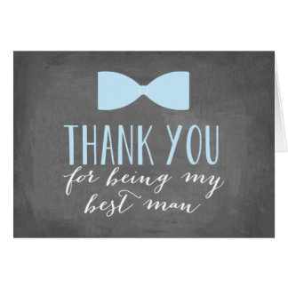 Best Man Thank You | Groomsman Note Card