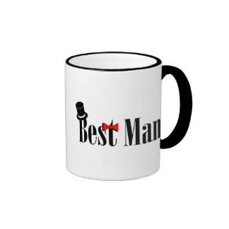 Best Man Top Hat Coffee Mug
