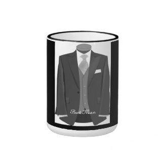 Best Man Tuxedo Wedding Party Gift Coffee Mug