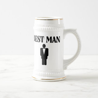 Best Man Wedding Beer Stein