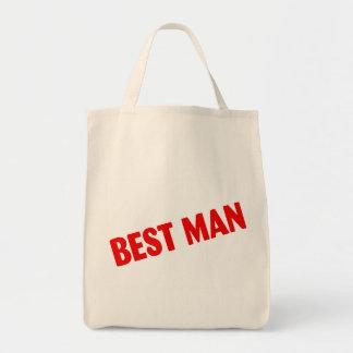 Best Man Wedding Red