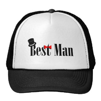 Best Man Wedding Trucker Hat