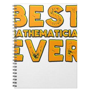 Best mathematician ever notebook