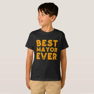 Best mayor ever kid's shirt