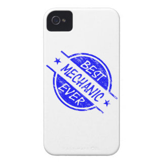 Best Mechanic Ever Blue iPhone 4 Cases