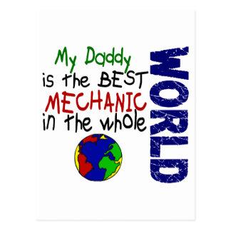 Best Mechanic In World 2 (Daddy) Postcard