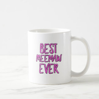 Best meemaw ever coffee mug
