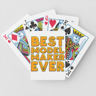 Best model maker ever bicycle playing cards