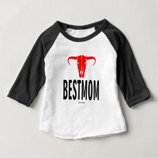 Best Mom & Bull by Vimago Baby T-Shirt
