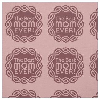 BEST MOM custom color fabric