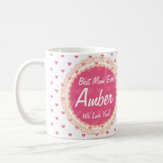 Best Mom Ever Custom Coffee Mug