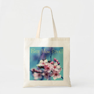 Best Mom Ever Flower Tote