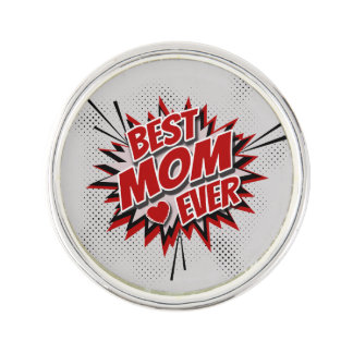 Best Mom Ever Lapel Pin