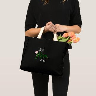 Best mom ever mini tote bag