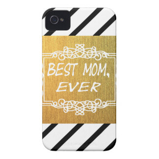 Best Mom Ever Mother's day Gold gift iPhone 4 Case