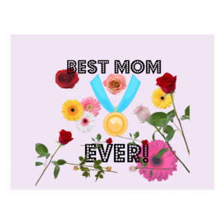 Best Mom Ever! Mother's Day Postcard