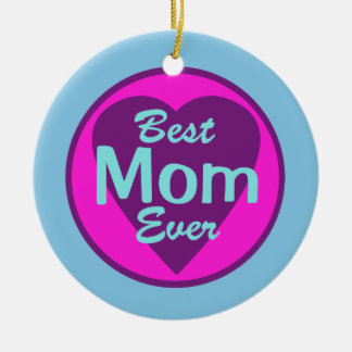 Best Mom Ever Personalized Ornament
