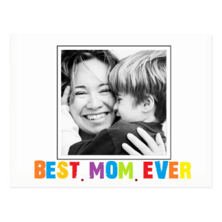 Best Mom Ever  photo card