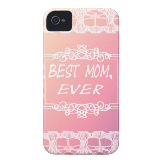 Best Mom Ever Pink Pastel mother's day gift iPhone 4 Case