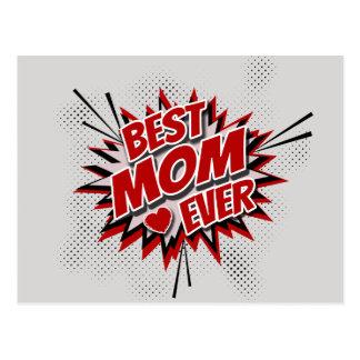 Best Mom Ever Postcard