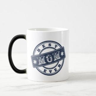 Best Mom Ever Rubber Stamp Mug for Mother's Day