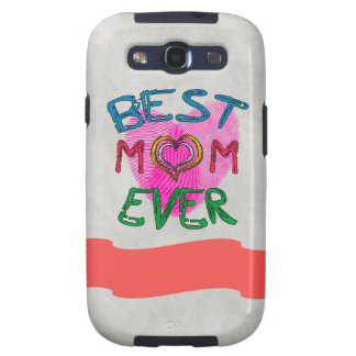 BEST MOM EVER Samsung Galaxy S 3 Case