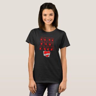 Best Mom Ever Tattoo Style Mother's Day T-Shirt