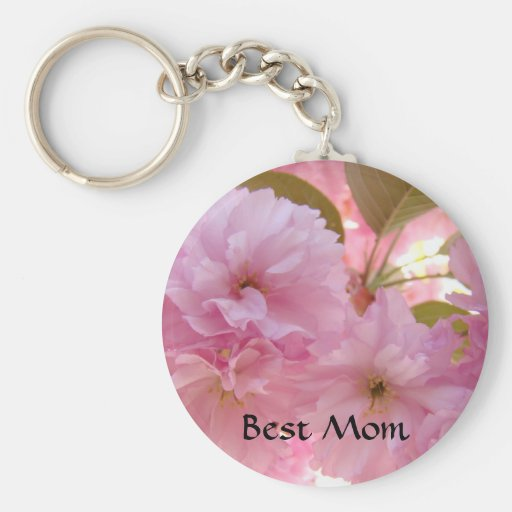 BEST MOM GIFT Blossoms Keychain Flowers