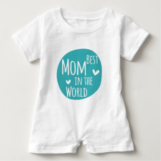 Best Mom In The World Baby Romper