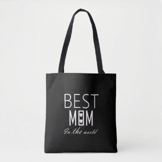BEST MOM IN THE WORLD bags