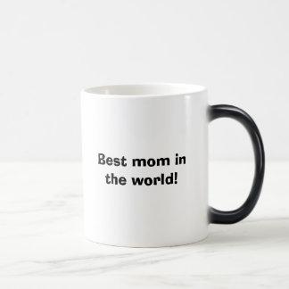 Best mom in the world! magic mug