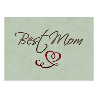 Best mom large business card