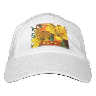 Best Mom Lilies Headsweats Hat