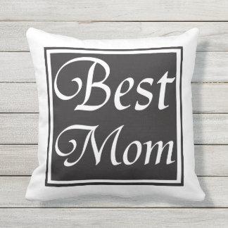 Best Mom Outdoor Pillow