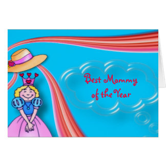 Best Mommy Greeting Card
